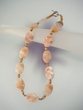 Pink Opal Sterling Silver Beaded Necklace
