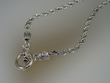 Twisted  Sterling  Silver  Necklace