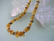Multicolor  Baltic  Amber  Garland  Necklace
