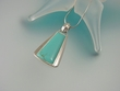 Turquoise Stylish Sterling Silver Pendant Necklace