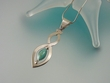 UniqueTurquoise Sterling Silver Pendant Necklace