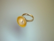 Freshwater Pearl Sterling Silver & Vermeil Ring