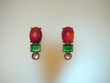 Multi Coloured Stones & Swarovski Crystal Earrings