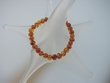 Honey  Baltic  Amber  Stretch  Bracelet