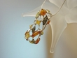 Multicolor Baltic Amber Stirling Silver Pendant Necklace
