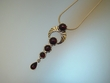 Cherry Baltic  Amber Sterling Silver Necklace