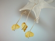 Elegant  Milky Baltic Amber  Sterling Silver Necklace & Earrings