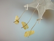 Artistic Milky Baltic Amber Sterling Silver Necklace & Earrings