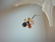 Modern Baltic Amber Flower Sterling Silver Pendant Necklace