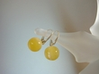 Milky Baltic Amber Sterling Silver Earrings