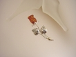 Rose Baltic  Amber Sterling Silver Brooch