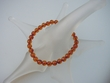 Honey Baltic Amber Round Stretch Bracelet