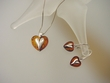 Honey Baltic Amber Sterling Silver Necklace and Earrings