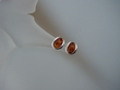 Modern Honey Baltic Amber Sterling Silver Earrings