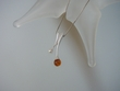 Contemporary Baltic Amber & Freshwater Pearl  Pendant Necklace