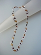 Honey & Cherry Baltic Amber Sterling Silver Necklace
