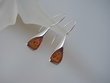 Honey Baltic Amber & Sterling Silver Earrings