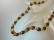 Classy  Multicolor  Baltic  Amber   Necklace