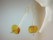 Elegant  Baltic Amber Sterling Silver Earrings