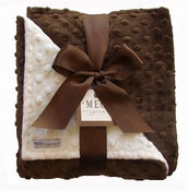 Meg Original Chocolate & Vanilla Minky Blanket