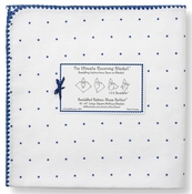 Ultimate Swaddle Receiving Blanket Little Stars Navy