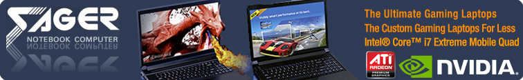 Sager Ultimate Gaming Laptop, Custom Built Laptop, Extreme Core i7 Processor
