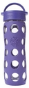 Royal Purple Glass Beverage Bottle 16 oz