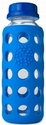 Ocean Blue Glass Beverage Bottle 9 oz