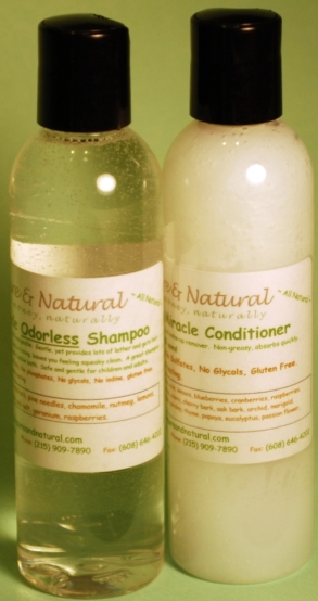 Tate's Combo Pack 4 oz. Odorless Shampoo and Conditioner