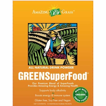 Amazing Grass Green SuperFood packet