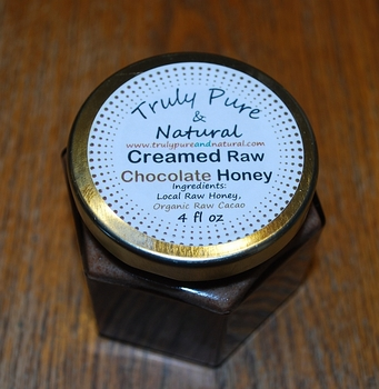 Raw Creamed Honey - Organic Chocolate 6 oz