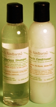 Tate's Combo Pack 4 oz. <i>Odorless</i> Shampoo and Conditioner