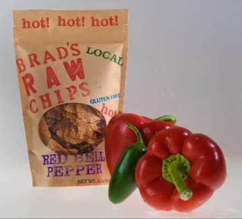 Brad's Raw Chips - Hot Red Bell Pepper