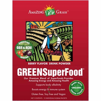 Amazing Grass Berry Green SuperFood packets