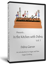 In the Kitchen with Debra DVD + Bonus eBook Included!