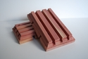 Red Cedar Beveled Soap Dish