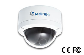 Indoor/Outdoor Vandal Proof Dome IP Camera with 3.3mm to 12mm Adjustable Lens