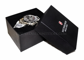 Victorinox 24144 Swiss Army Maverick II Black Dial Chrono Watch