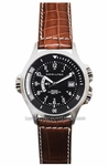 H77615533 HAMILTON KHAKI NAVY GMT MENS WATCH