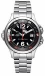 H77555135 HAMILTON KHAKI NAVY GMT MENS WATCH