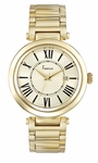 Freelook Elysee Polished Gold Tone Watch HA1134GM-3A