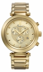 Freelook Elysee Chrono Gold-Tone Watch HA1136CHMG-3