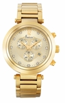 Freelook Elysee Chrono Matte Gold Tone Watch HA1136CHMG-3A