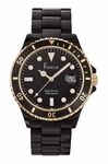 Freelook Black Sea-Diver Watch HA1437B-RG