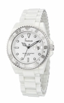 Freelook White Ceramic Watch HA5109-9