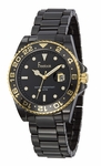 Freelook Black Ceramic Watch HA5109G-1