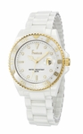 Freelook White Ceramic Watch HA5109G-9