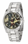 Freelook CAMOUFLAGE Dial Stainless Steel Watch HA5304-4E