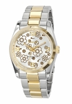 Freelook FLOWERS 2-Tone Stainless Steel Watch HA5304G-3