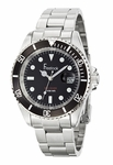 Freelook Sea Diver Black Dial Stainless Steel Watch HA5305-1